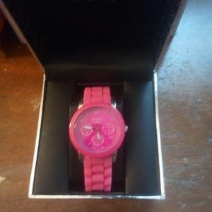 Pink XOXO watch